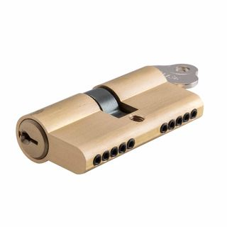 LOCK CYLINDERS SATIN BRASS