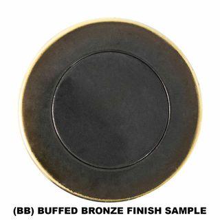 BARREL BOLTS BUFFED BRONZE