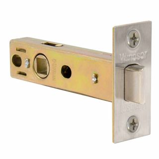 MORTICE LATCHES BRUSHED NICKEL