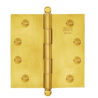 HINGES BRASS FIXED-LOOSE PIN
