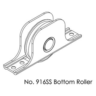 BRIO BOTTOM ROLLERS
