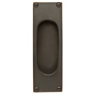 FLUSH PULLS OIL RUBBED BRONZE