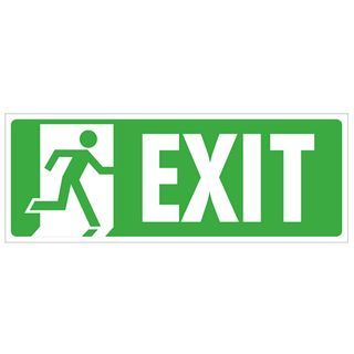SIGNS EXIT - NO EXIT DIRECTIONAL