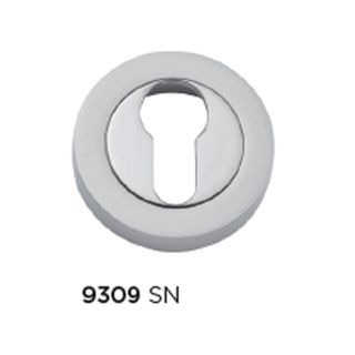 ESCUTCHEONS & TURNS SATIN NICKEL