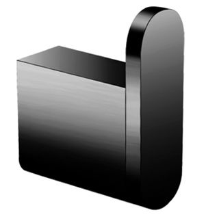 HAT-COAT ROBE HOOKS MATT BLACK