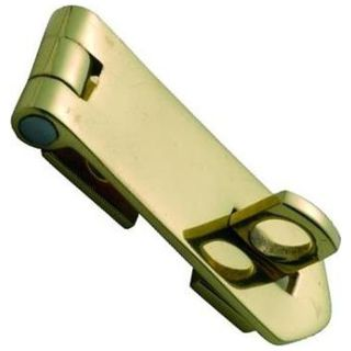 HASP AND STAPLES POLISHED BRASS