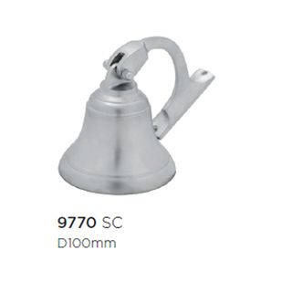 SHIPS & HAND BELLS SATIN CHROME