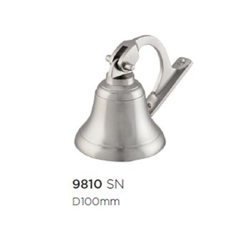 SHIPS & HAND BELLS SATIN NICKEL