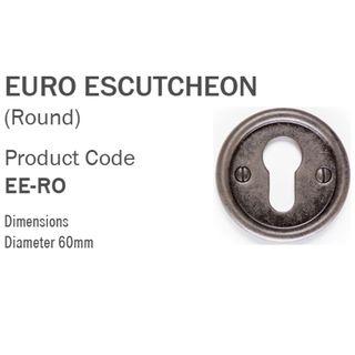EURO ESCUTCHEONS AGED FINISH