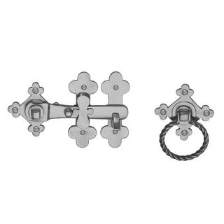 GATE HARDWARE SATIN CHROME