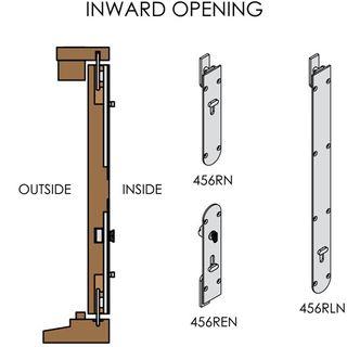 FRENCH DOORS INWARD