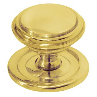 CABINET KNOBS POLISHED BRASS