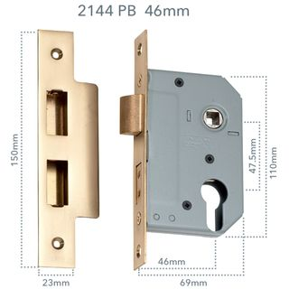EURO CYLINDER MORTICE LOCKS