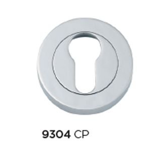 EURO ESCUTCHEONS CHROME PLATE