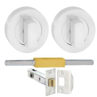 SAFETY LATCHES CHROME PLATE