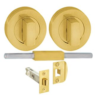 SAFETY LATCHES POLISHED BRASS