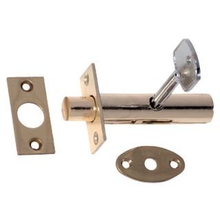 DOOR SECURITY BOLTS POLISHED BRASS