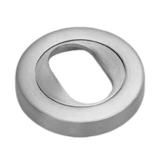 OVAL CYLINDER ESCUTCHEONS STAINLESS STEEL