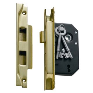 3 LEVER MORTICE LOCKS REBATED