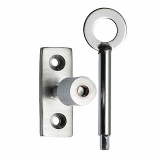 FANLIGHT STAY LOCKING PINS SATIN CHROME