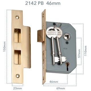 5 LEVER MORTICE LOCKS