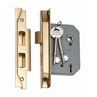 5 LEVER MORTICE LOCKS REBATED