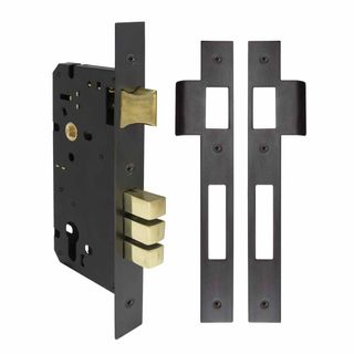 LOCKS DARK ROMAN BRASS