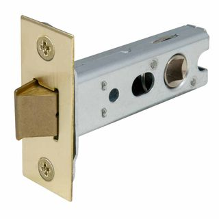 MORTICE LATCHES UNLACQUERED SATIN BRASS