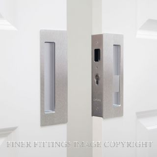 CL400 DOUBLE DOOR PRIVACY SET RIGHT HAND MAGNETIC 40-46MM