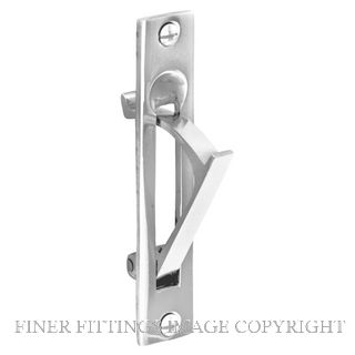 DELF 1272 SLIDING DOOR PULL CP CHROME PLATE