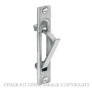 DELF 1272 SLIDING DOOR PULL SCP SATIN CHROME