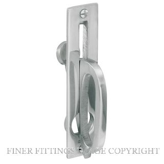 DELF 1270 GRAVITY DROP SLIDING DOOR PULL SCP SATIN CHROME