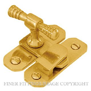 DELF 1971 FASTENER POLISHED BRASS