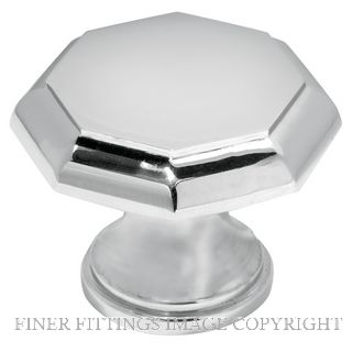 DELF 3427C - 3432C CABINET KNOBS CHROME PLATE