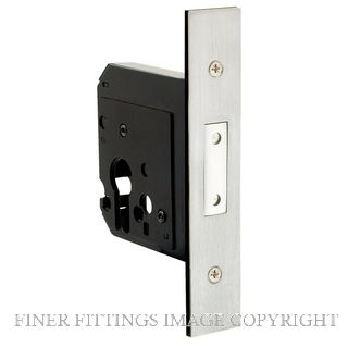 DELF DF9071 EURO DEADBOLT STAINLESS STEEL