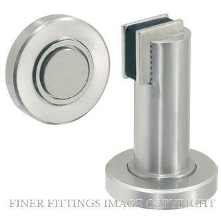 DELF DS004 MAGNETIC DOOR STOPPER NP NICKEL PLATE