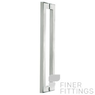 DELF PH257 PULL HANDLES 600MM STAINLESS STEEL