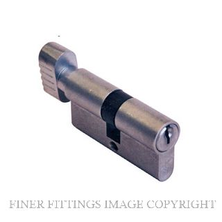FINER FITTINGS 5 PIN KEY-TURN EURO CYLINDERS