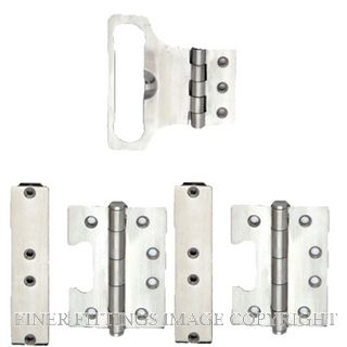 LEGGE 13301 STAINLESS STEEL ESCAPE HINGE SATIN STAINLESS