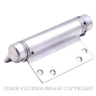 HFH 4160 103 SINGLE ACTION HINGE 100MM CHROME PLATE