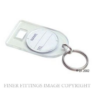 TATA K-1A KEY TAG SPARES UNNUMBERED PACKET OF 10