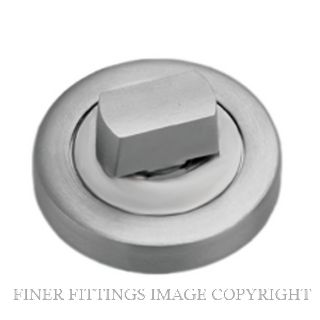 SCHLAGE 7007 TURN KNOB SATIN STAINLESS
