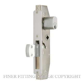 SCHLAGE 950L 5 SINGLE KEY DEADLOCK SATIN CHROME