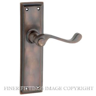 TRADCO MILTON LEVER FURNITURE ANTIQUE BRASS