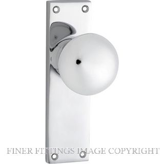 TRADCO VICTORIAN KNOB FURNITURE CHROME