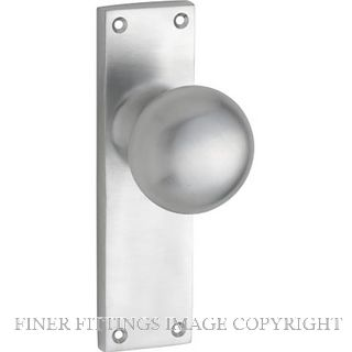 TRADCO VICTORIAN KNOB FURNITURE SATIN CHROME