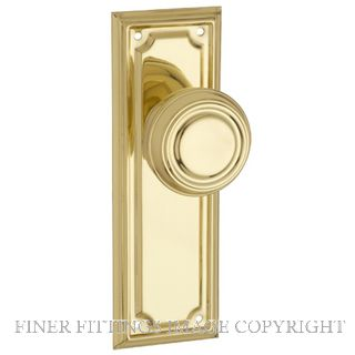 TRADCO EDWARDIAN FURNITURE POLISHED BRASS