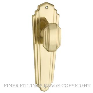 TRADCO DECO FURNITURE POLISHED BRASS