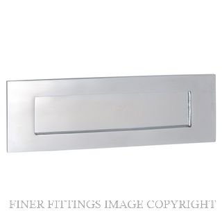 TRADCO 1359 LETTER PLATE 300 X 100MM CHROME PLATE