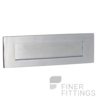TRADCO 1360 LETTER PLATE 300 X 100MM SATIN CHROME